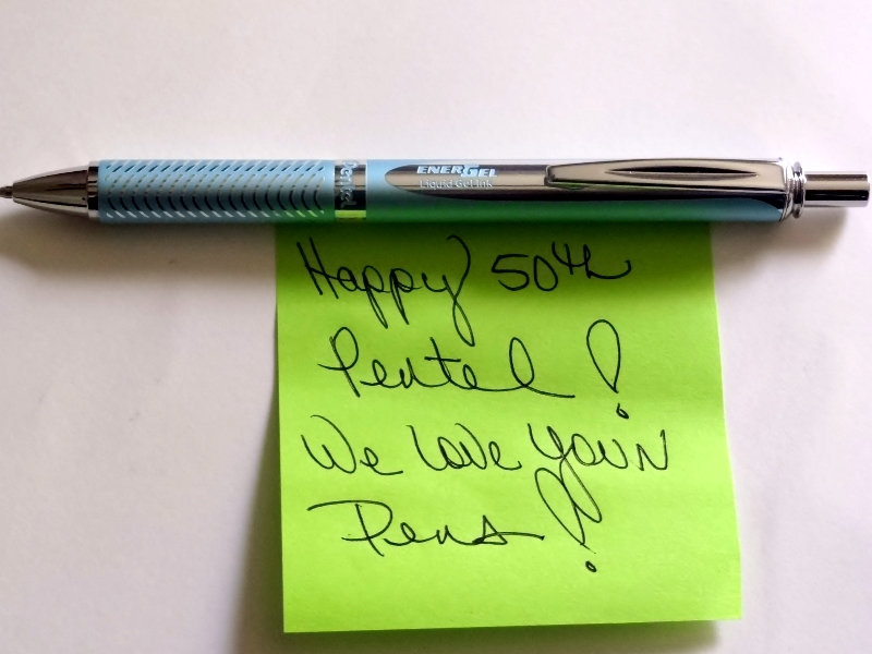 birthday, wishes, pens, pencils, #Pentel