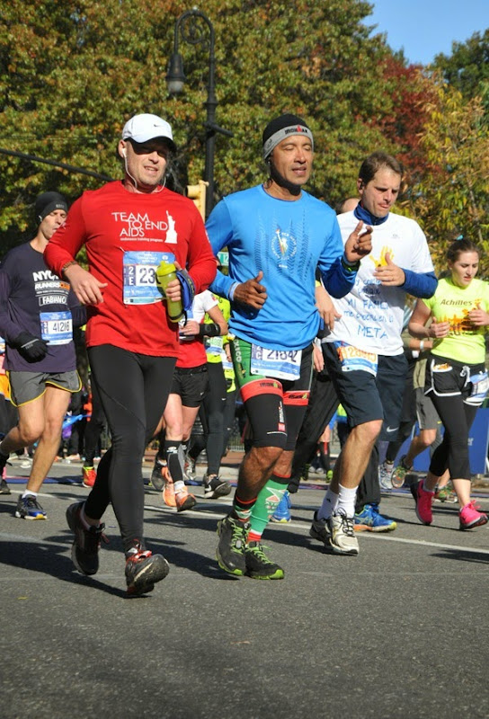 2014 New York Marathon runners