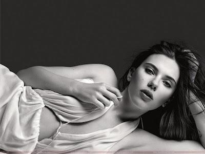 Scarlett Johansson Butter Girl