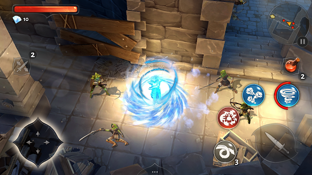 Dungeon Hunter 5 Mod APK with Data August 2015 - Get Unlimited HP and Mana
