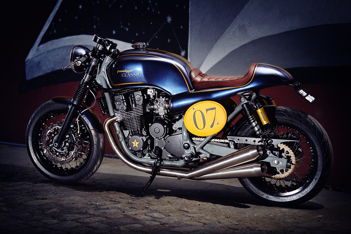 Racing Caf U00e8  Honda Cb 750  U0026quot Gravedigger Se Classic  2 U0026quot  By It Rocks Bikes