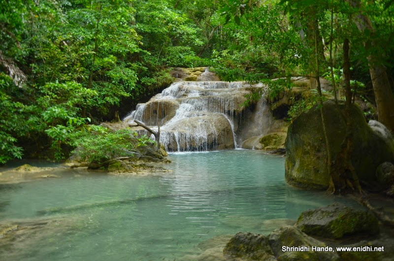 Erawan falls and National Park Kanchanaburi - eNidhi India