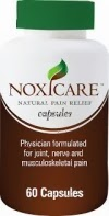 Noxicare pain relief capsules, natural pain relief for nerve and muscle pain