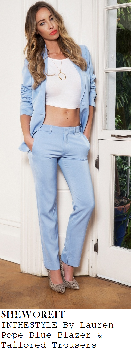 lydia-bright-light-blue-blazer-and-trousers-suit-co-ords-lauren-pope-inthestyle-launch