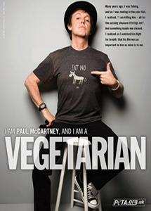 Paul McCartney Go Veg!