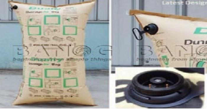 Túi khí chèn lót hàng hóa- Giải pháp tốt đóng gói bao bì Tui-khi-chen-lot-trong-container-1-300x219