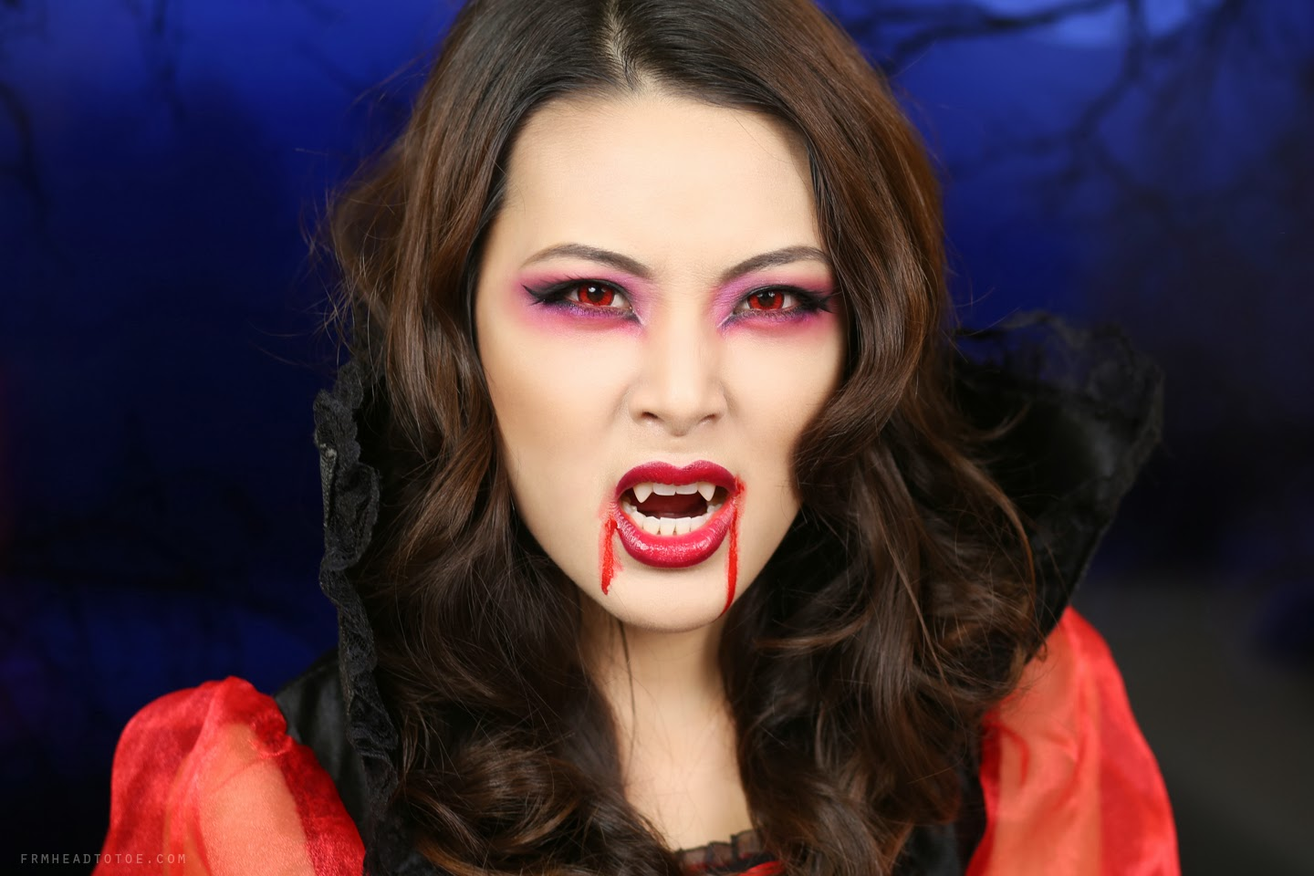 Tutorial sexy vampire makeup halloween 2013 from head to toe tutorial sexy vampire makeup halloween 2013 baditri Image collections