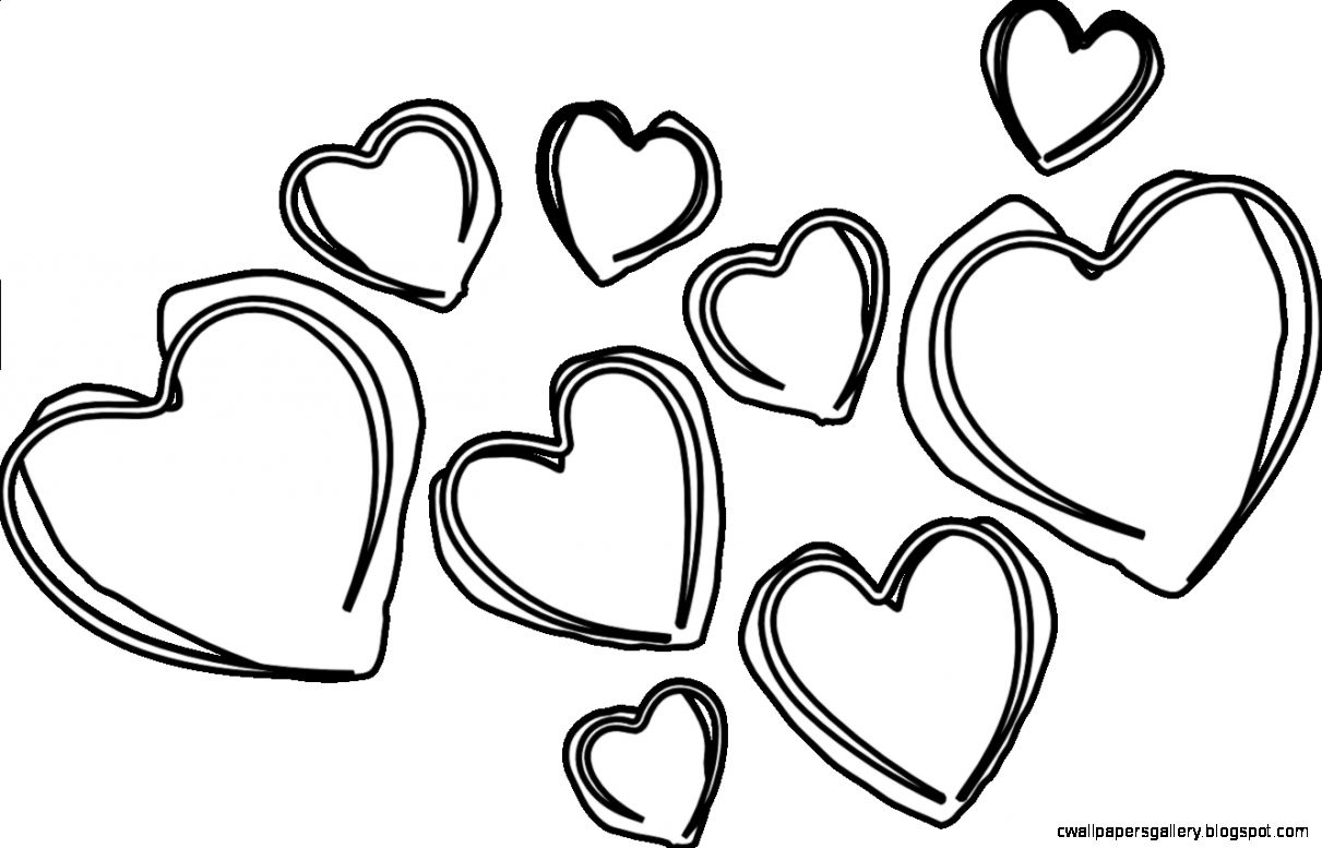 Pics Of Black Hearts   ClipArt Best