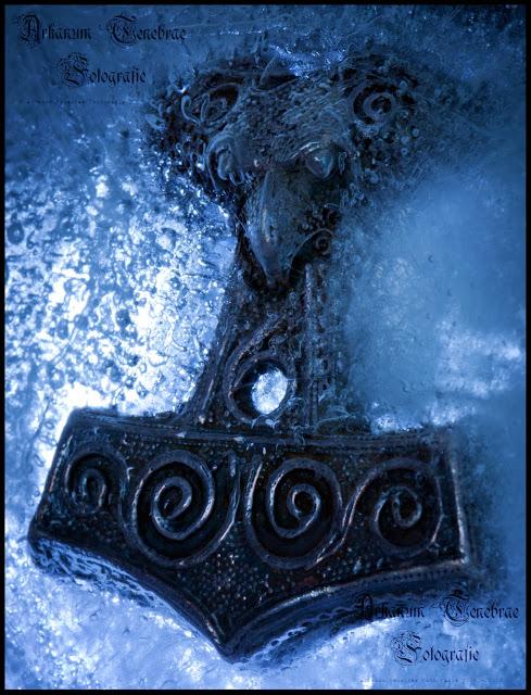 Thors Hammer in Eis
