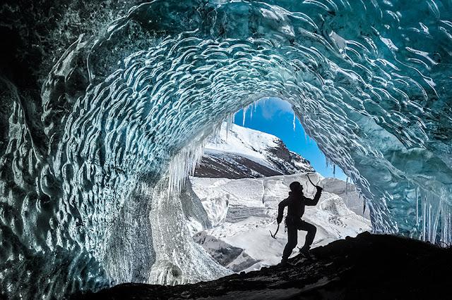 Kartki z podróży - Wspinaczka na lodowcu Svínafellsjökull
