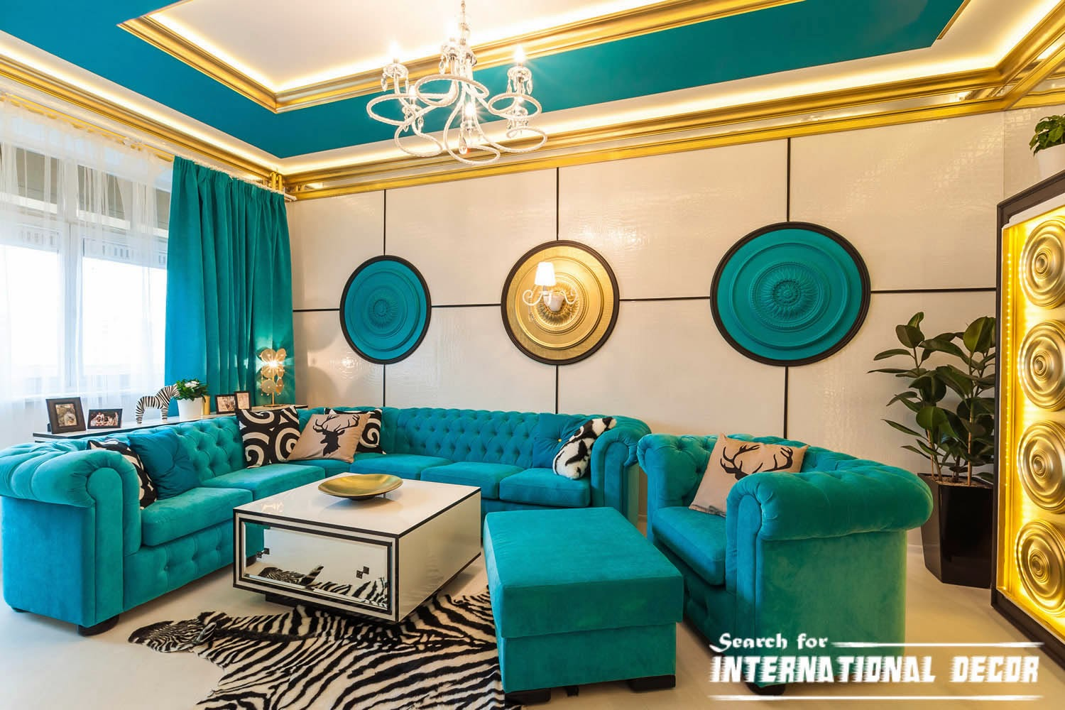 neoclassical style in the interior and furniture