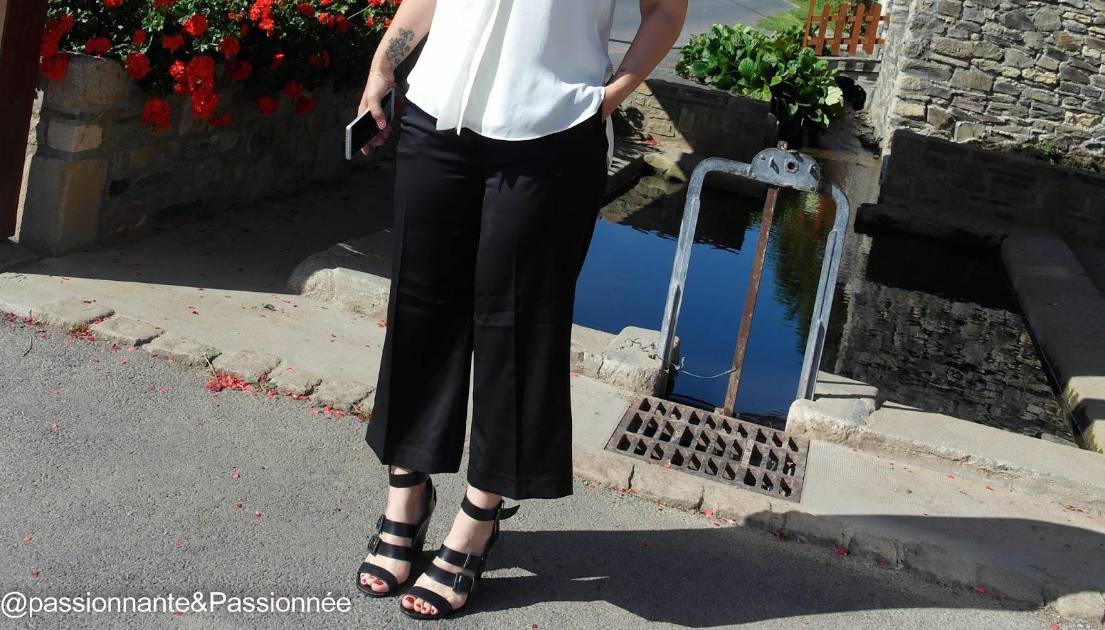 Look habillé : Jupe culotte