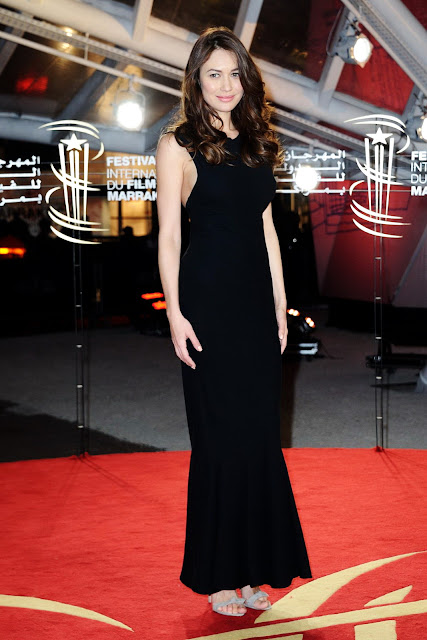 Actress, Model, @ Olga Kurylenko - 'You Can't Save Yourself Alone' premiere during 15th Marakech IFF