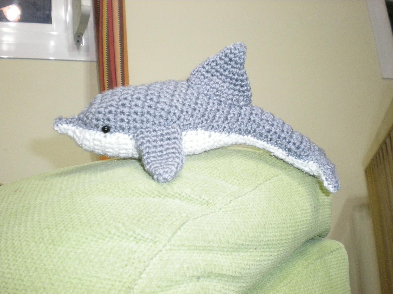 Tutorial Delfin Amigurumi : Amigurumis, Crochet y Otras Cosillas Juani: Delf?n
