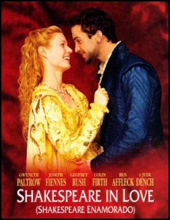 Shakespeare enamorado (Shakespeare in love, de John Madden, 1998)