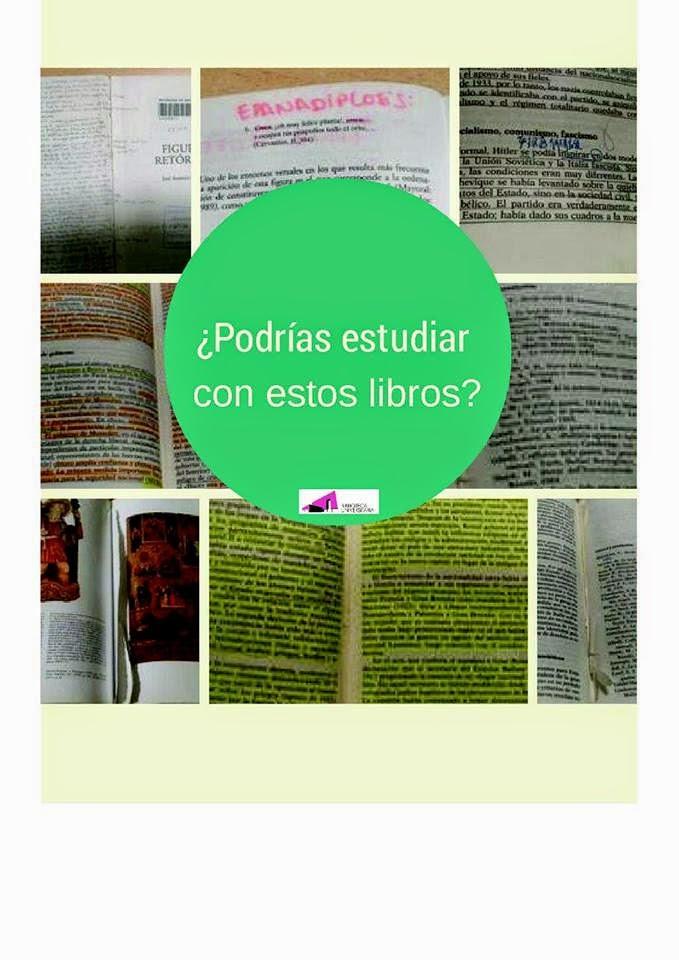 Ejemplos reales de libros que han sido devueltos en la biblioteca.