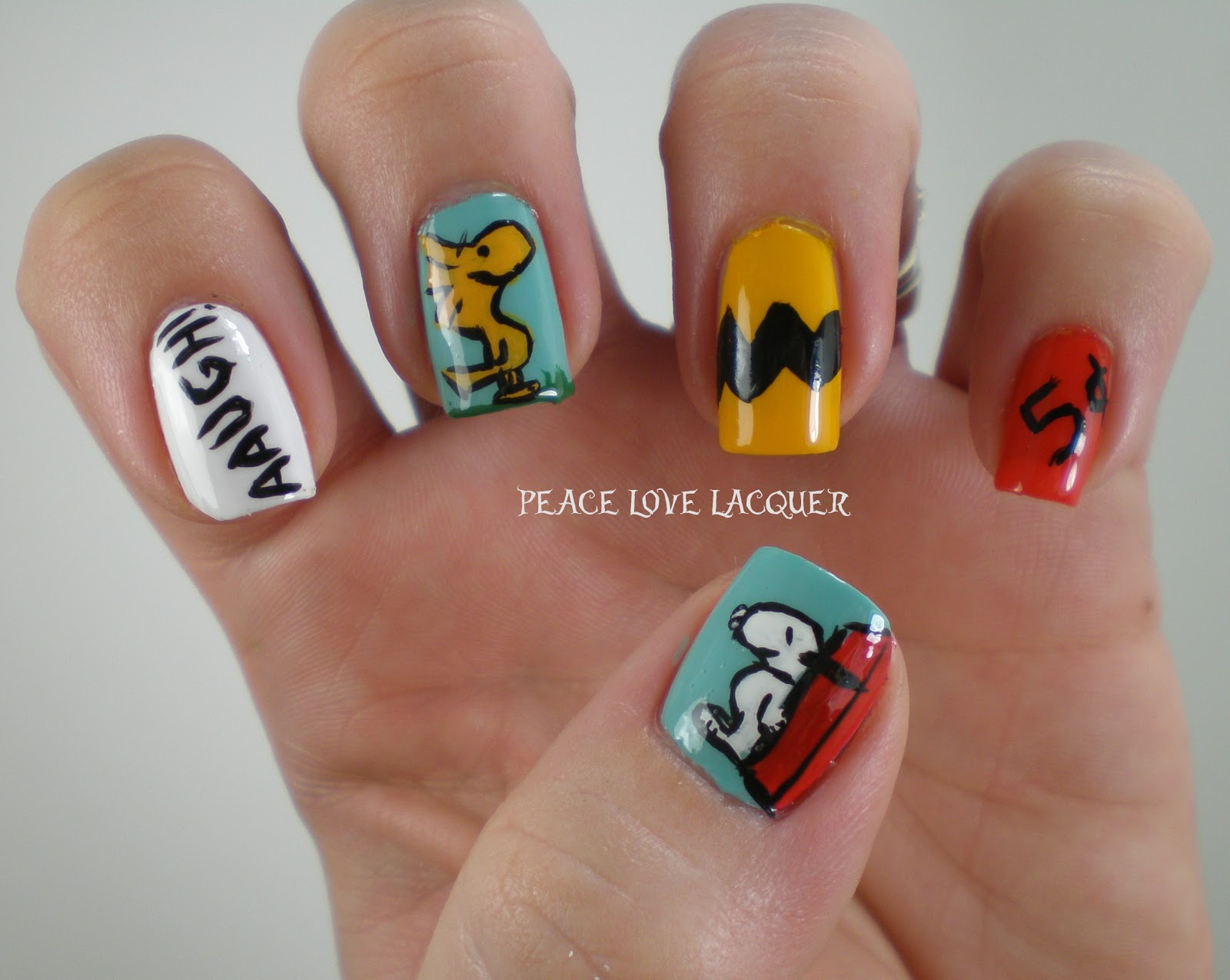 Peace Love Lacquer Thanksgiving Nail Art Challenge Day 2 Charlie