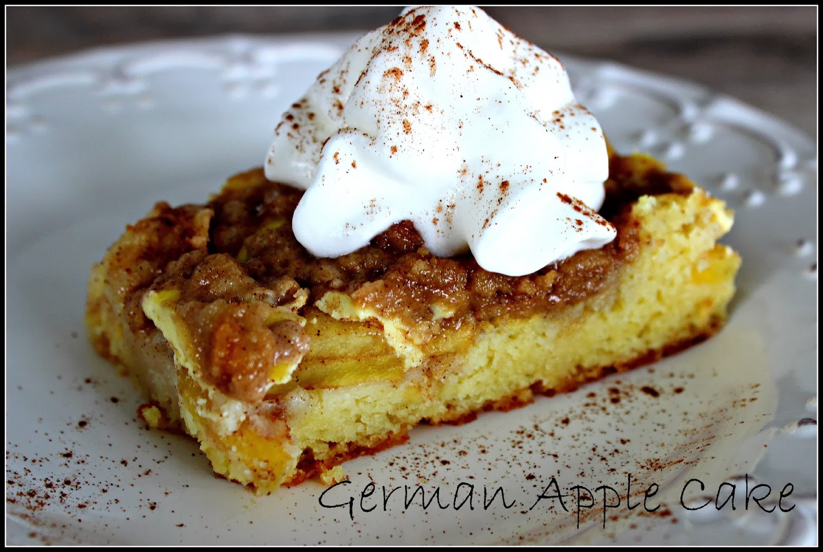 Deals to Meals: German Apple Cake (Apfelkuchen)