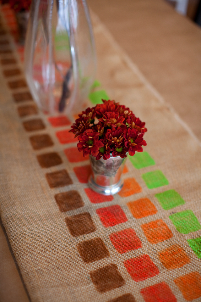 Burlap Table Runner | ...