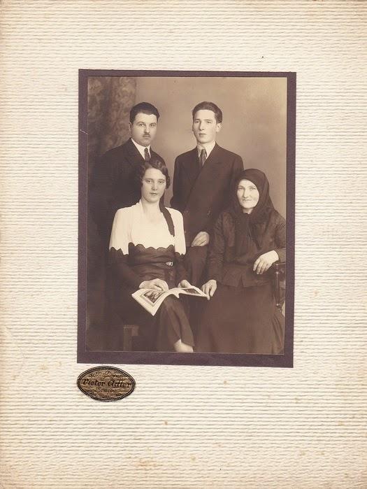 Fotografie de familie de epoca
