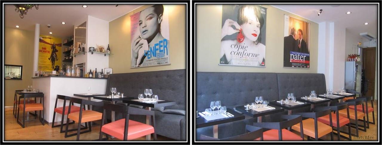 Le Patio Opéra Paris 9eme le restaurant affiches films