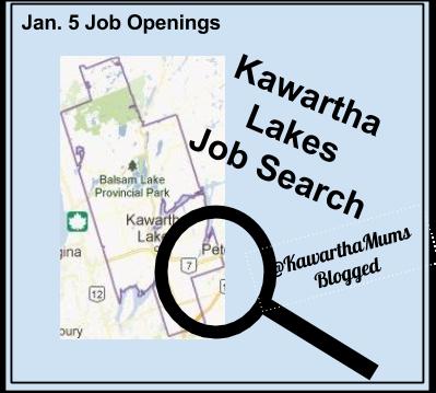 image Jan 5, 2015 Kawartha Lakes Job Openings