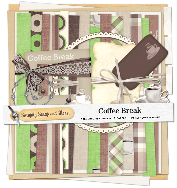 Scrapkit: Coffee Break