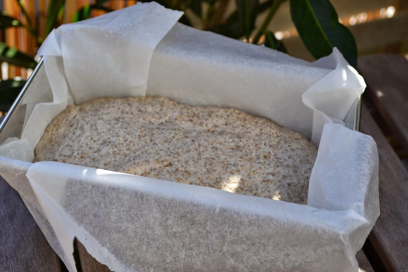 Farine de seigle, pain, fait maison, moelleux