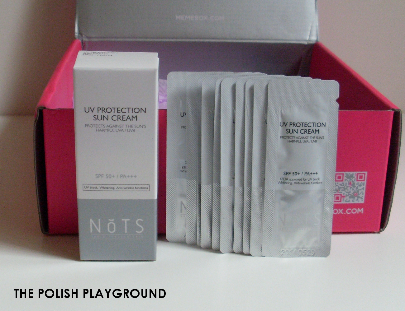 Memebox Special #25 Traveler's Beauty Kit Unboxing - NoTS UV Protection Sun Cream SPF50+ PA+++
