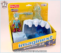 Fisher-Price Imaginext DC Super Friends Mr Freeze Cave Toys R Us Batman アメコミ バットマン トランスフォーマー