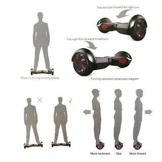 Image: RoverFX Self Balancing Smart Electric Drifting Board - Shop USA