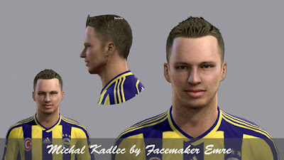 PES 2013 Michal Kadlec Face by Facemaker Emre