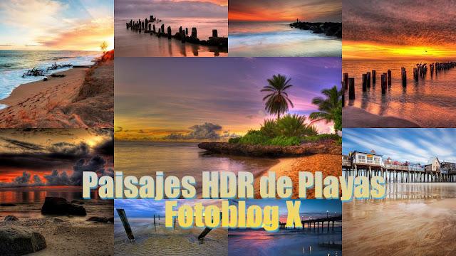Imagenes de Hermosos Paisajes HDR de Playas