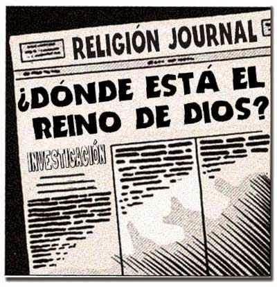 Front page cómic - El Reino de Dios o Reino de los Cielos
