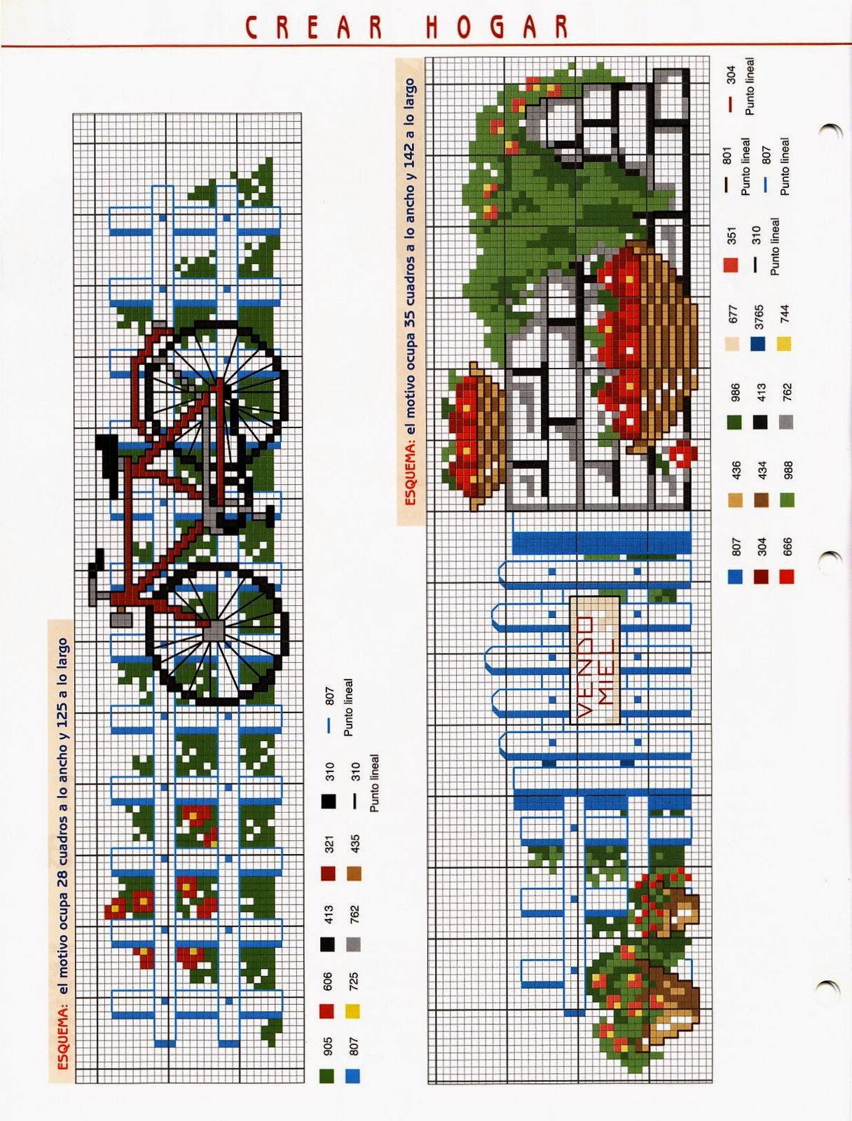 punto de cruz, revista gratis - Revistas de crochet y tejidos gratis