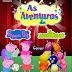 Atenção criançada areia-branquense: Dia 26 de julho no Caravelas Clube - As aventuras de PEPPA PIG e os THE BACKYARDIGANS