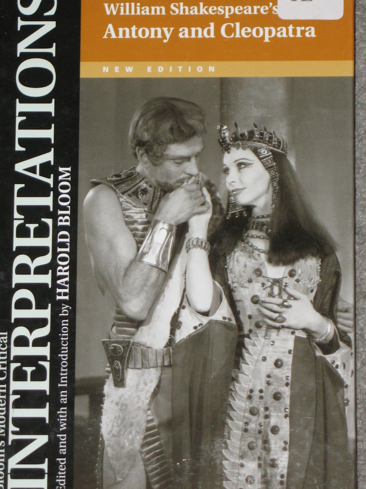 mostly shakespeare but also some occasional nonsense william shakespeare s antony and cleopatra new edition edited and an introduction by harold bloom this is a volume in the modern critical