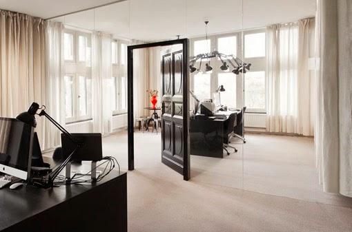 Marzua mamparas de vidrio de oficinas para separar espacios - Mampara de vidrio ...