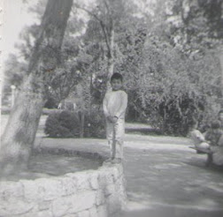 Ren at Lincoln Park 1962