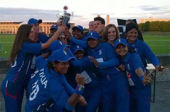Nazionale Cricket Femminile vince T20 europeo - Berlino 2014