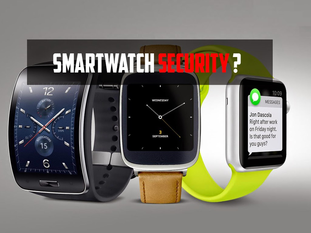 Why You Should Care About Smartwatch Security