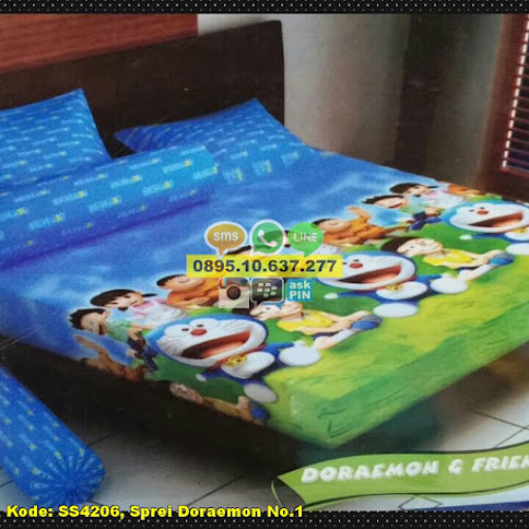 Sprei Doraemon No.1