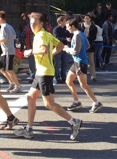 My brother-in-law completes NYC Marathon
