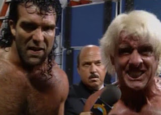 WWF (WWE) SURVIVOR SERIES 1992 - FLAIR AND RAMON ARE ANNOYED!