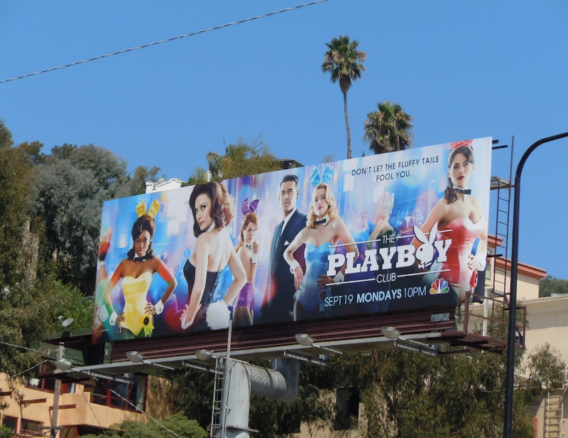 The Playboy Club TV billboard