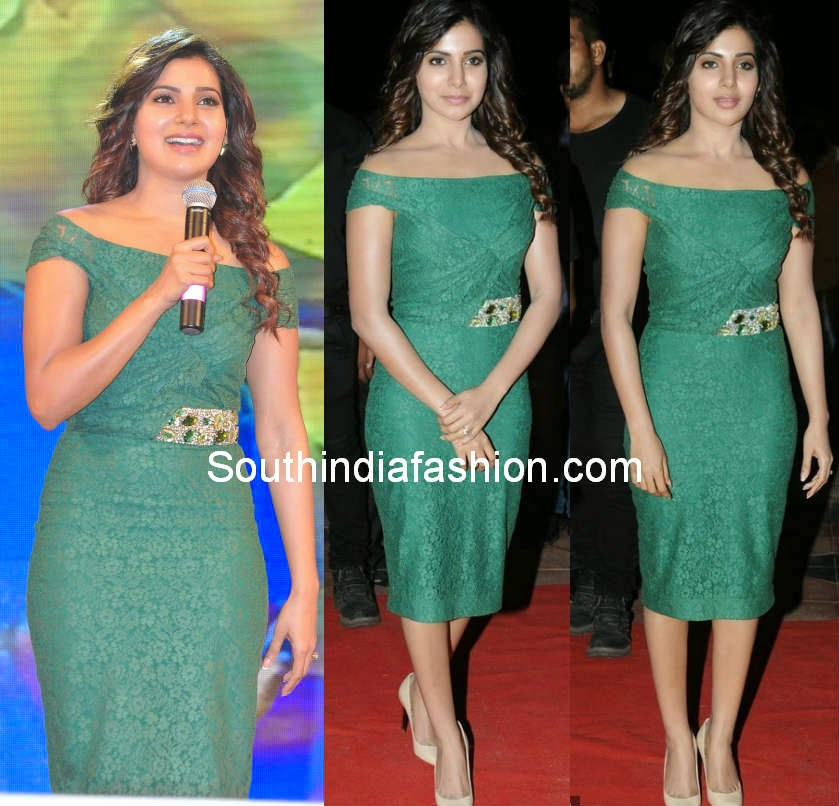 samantha at sikindar movie audio launch