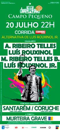 CAMPO PEQUENO (LISBOA) 20-07-2017. GRAN CORRIDA A PORTUGUESA.