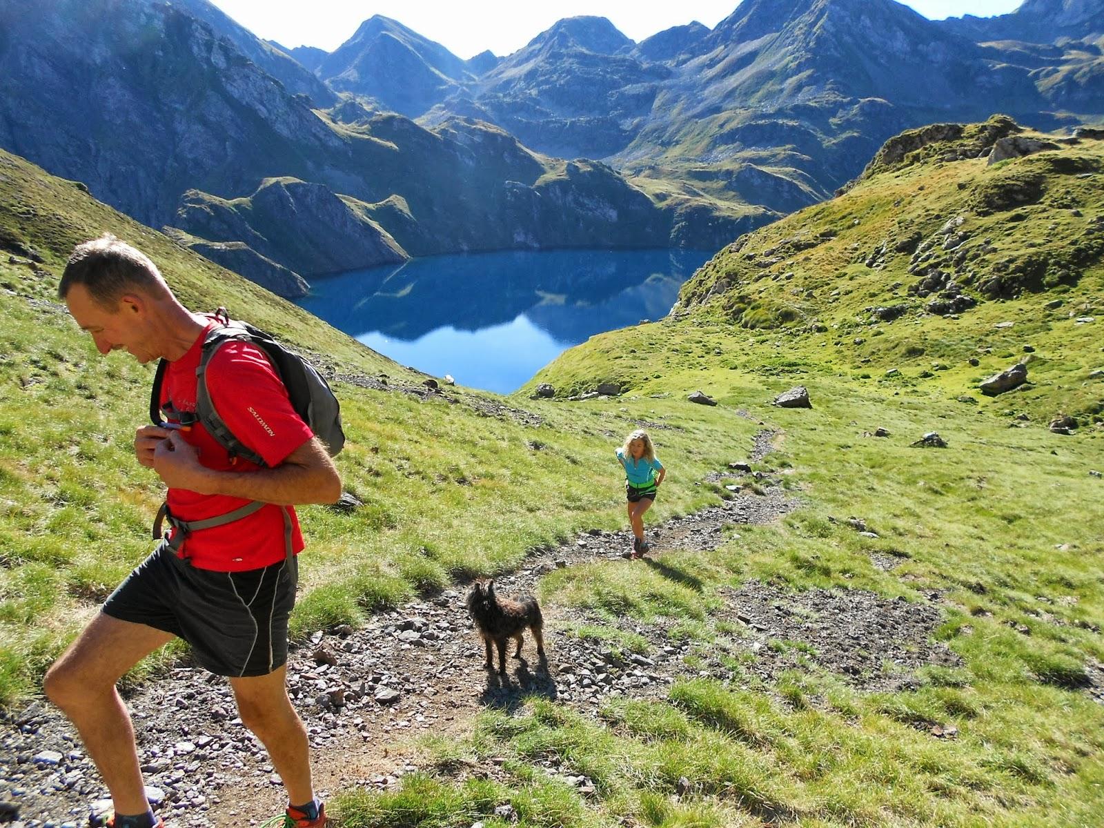 montagne trail boucle par col de bareilles avec le groupe