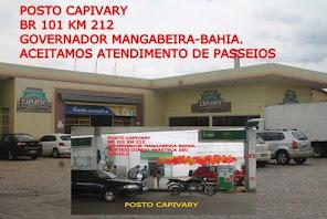POSTO CAPIVARY. GOVERNADOR MANGABEIRA-BAHIA