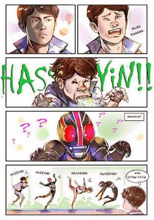 Pilek Tak Bisa Menghalangi Henshin Kamen Rider Black